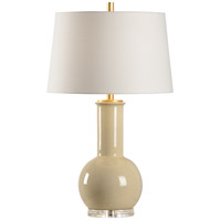 Wildwood 46999 Dharma 30 inch 100 watt Ceramic and Acrylic Table Lamp Portable Light