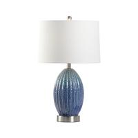Wildwood 47061 MarketPlace 26 inch 100.00 watt Blue/Green Glaze Table Lamp Portable Light