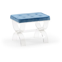 Harlow Blue Bench