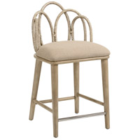 Zoe 36 inch Light Taupe and Light Taupe Counter Stool