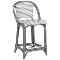 Beaumont 36 inch Grey and White Counter Stool