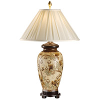 Wildwood Lamps 5208 Bending Tree 29 inch 100 watt Hand Painted Porcelain Table Lamp Portable Light photo thumbnail