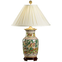 Wildwood Lamps Birds Paradise Table Lamp in Hand Painted Porcelain 5236