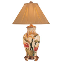 Wildwood Lamps Bird Of Paradise Table Lamp in Hand Painted Crackle Porcelain 5808 photo thumbnail