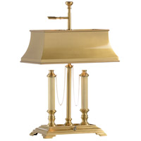 Wildwood Lamps Classic Desk Table Lamp in Antiqued Brass 584