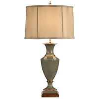 Wildwood Lamps Classic Urn Table Lamp in Fired Metallic Gold Accents 60014
