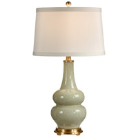 Wildwood Lamps Bottle On Bottle Table Lamp in Hand Colored Crackle Porcelain 60022