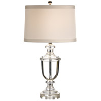 Wildwood Lamps Crystal Urn Table Lamp in Solid Crystal 60026