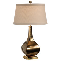 Wildwood Lamps Round To Square Table Lamp in Bronze Metallic Porcelain 60039