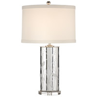 Wildwood Lamps Birds And Branches Table Lamp in Patterned Mercury Glass 60054
