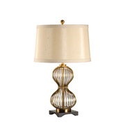 Wildwood Lamps Pinched Cage Table Lamp in Old Gold Finish 60265