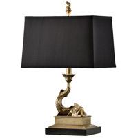 60318-2 Wildwood Wildwood 23 inch 100 watt Solid Cast Brass-Antique Patina Table Lamp Portable Light