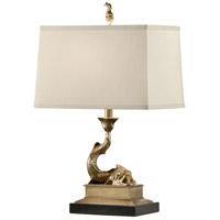 60318 Wildwood Wildwood 23 inch 100 watt Solid Cast Brass-Antique Patina Table Lamp Portable Light