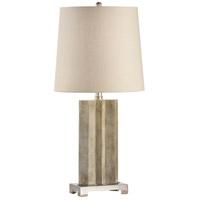 Wildwood 60351 Geo 31 inch 100 watt Antique Brass Table Lamp Portable Light
