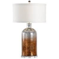 Aramis 31 inch 100 watt Ombre Mercury Glass Table Lamp Portable Light