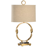 60455 Wildwood Wildwood 30 inch 100 watt Antique Brass Table Lamp Portable Light