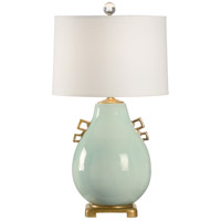 WM 34 inch 100 watt Gold Leaf Table Lamp Portable Light
