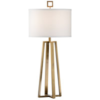 60516 Wildwood Wildwood 32 inch 100 watt Antique Brass Table Lamp Portable Light