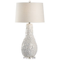 Wildwood 60536 Encore 34 inch 100 watt Ceramic and Acrylic Table Lamp Portable Light