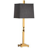 60544 Wildwood Wildwood 32 inch 100 watt Antique Gold Leaf Table Lamp Portable Light