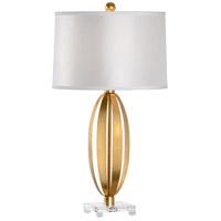 Wildwood 60545 Lena 31 inch 100 watt Iron and Crystal Table Lamp Portable Light
