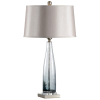 Turner 33 inch 100 watt Glass and Acrylic Table Lamp Portable Light