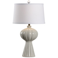 60572 Wildwood Wildwood 32 inch 100 watt Greige Glaze Table Lamp Portable Light
