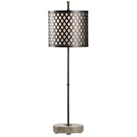 Kendall 34 inch 60 watt Metal and Marble Table Lamp Portable Light