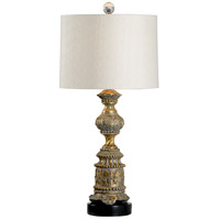 Westwood 35 inch 100 watt Aged Gold and Black Table Lamp Portable Light