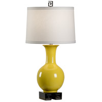 Choi 28 inch 100 watt Forsythia and Black Table Lamp Portable Light