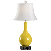 Tang 28 inch 100 watt Forsythia and Black Table Lamp Portable Light
