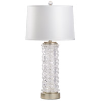60698 Wildwood Wildwood 34 inch 100 watt Clear Table Lamp Portable Light
