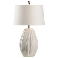 Wildwood 60768 Borghese 29 inch 100 watt Ivory Glaze Table Lamp Portable Light