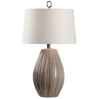 Wildwood 60769 Borghese 29 inch 100 watt Taupe Glaze Table Lamp Portable Light