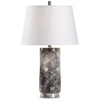 60773 Wildwood Wildwood 30 inch 100 watt Black/Gray/Cream Glaze Table Lamp Portable Light