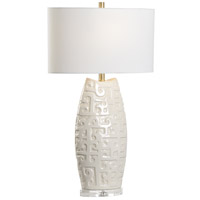 Wildwood 60937 Wildwood 31 inch 100 watt Cream Table Lamp Portable Light