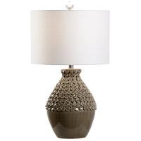 60951 Wildwood Wildwood 27 inch 100 watt Seal Glaze Table Lamp Portable Light