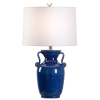 Wildwood 60956 Wildwood 29 inch 100 watt Cobalt Glaze Table Lamp Portable Light