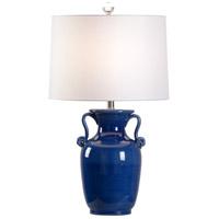 60956 Wildwood Wildwood 29 inch 100 watt Cobalt Glaze Table Lamp Portable Light
