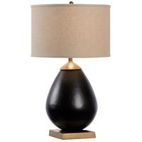 61033 Wildwood Wildwood 30 inch 100.00 watt Matte Black/Matte Gold Table Lamp Portable Light