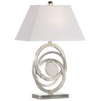 61048 Wildwood Wildwood 29 inch 100.00 watt Silver Leaf/Natural White Table Lamp Portable Light