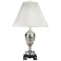 Frederick Cooper by Wildwood Lamps Aurelius Table Lamp in Silver Plated Finish 65021
