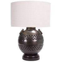 Frederick Cooper by Wildwood Lamps Darius Table Lamp in Bronze & Brass Finish 65023