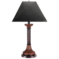 Wildwood Lamps Horus Table Lamp in Brown Finish 65032