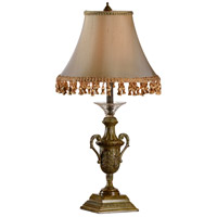 Wildwood Lamps Frontenac I Table Lamp in Aged Brown 65036