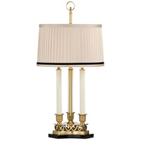 Frederick Cooper by Wildwood Lamps Thea Table Lamp in Antique Brass 65046-2