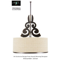Wildwood Lamps Etienne I Pendant in Silhouette Pendant Bronze Finish 65055