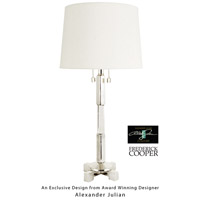 Frederick Cooper by Wildwood Lamps Artemis III Table Lamp in Antique Silver 65063