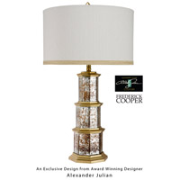 Wildwood Lamps Zhending Table Lamp in Antique Brass 65070