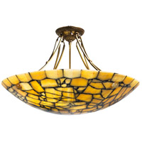 Wildwood 65079 Frederick Cooper 8 Light 32 inch Round Marble Chandelier Chandelier Ceiling Light